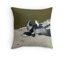 Ohhhh S*#t!!! Throw Pillow