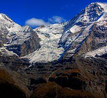 Eiger & Jungfrau  by David Hutcheson