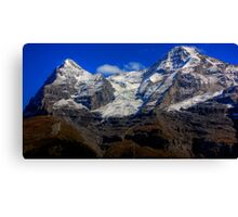 Eiger & Jungfrau  Canvas Print