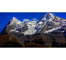 Eiger & Jungfrau  Photographic Print