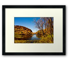Tranquil Water. Framed Print