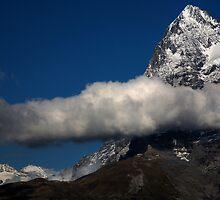 Eiger from Murren 2  by David Hutcheson