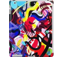 Psych Abstract iPad Case/Skin