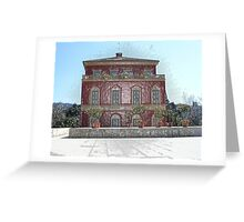The house of Henri Matisse in Nice  Greeting Card