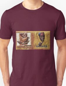 """Single ever seen """"Banania story"""" version 3 : My Creations Artistic Sculpture Relief fact Main 19  (c)(h) by Olao-Olavia / Okaio Créations Unisex T-Shirt"""
