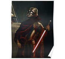 Darth Vader - Portrait (As a Knight) Poster