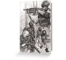 Prison Officers Greeting Card