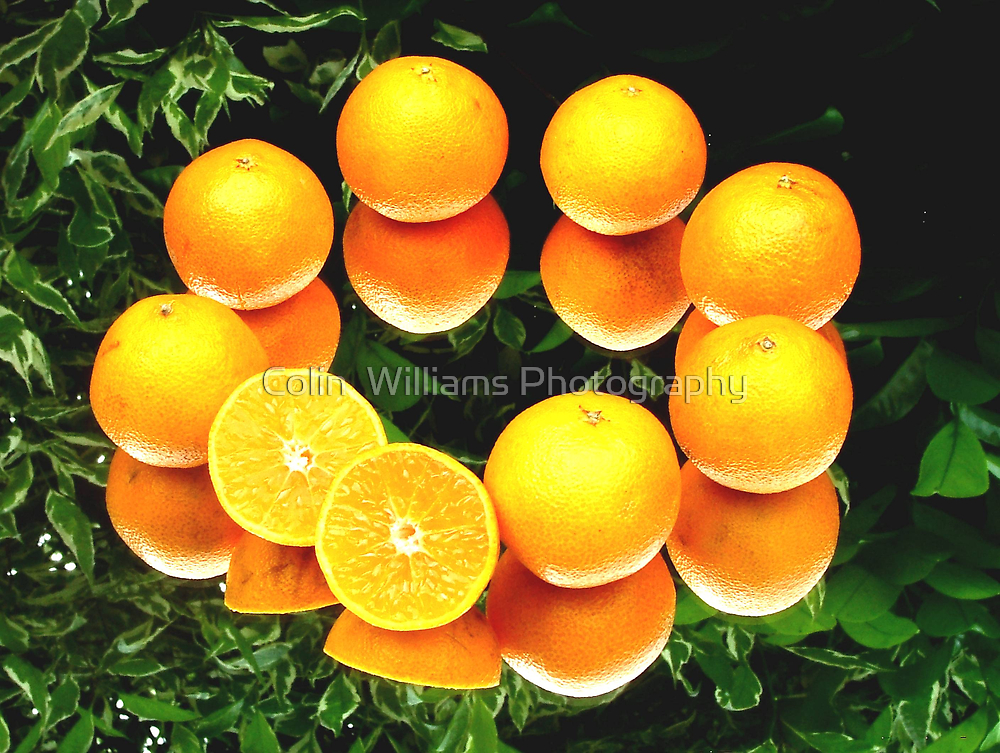 O is for Orange by Colin  Williams Photography