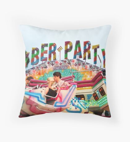 Cyber Party Throw Pillow