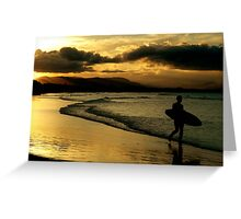 ~One Last Surf~ Greeting Card