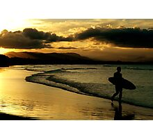 ~One Last Surf~ Photographic Print