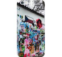 Lennon Peace Wall iPhone Case/Skin