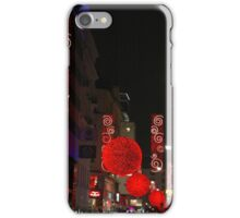 Red lights iPhone Case/Skin