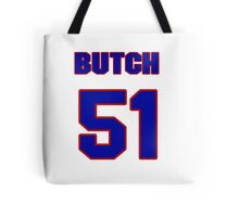 National baseball player Butch Hobson jersey 51 Tote Bag