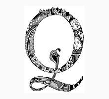 Monogram Letter Q Unisex T-Shirt