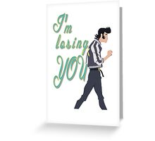 Space Dandy Greeting Card