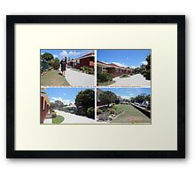 I've lived everywhere, man. That was Gouda, Sydney, Maude, Bourke, …….. Framed Print