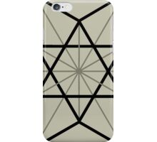 Cuboctahedron, Structur of Universe, Sacred Geometry iPhone Case/Skin