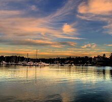 Pink Reflections - Newport - The HDR Series by Philip Johnson