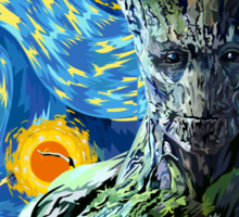 Guardian of the Starry night Sticker