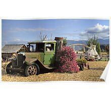 Garden Truck Poster