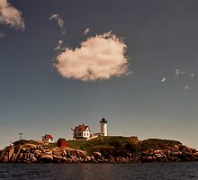 Cape Neddick Maine Lighthouse by Allen Lucas