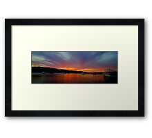Lust - Newport - The HDR Series Framed Print