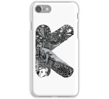 Letter K iPhone Case/Skin