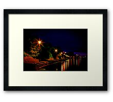 """Daybreak at Western Beach"" Framed Print"