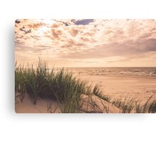 Romantic and calm seaside in summer Canvas Print