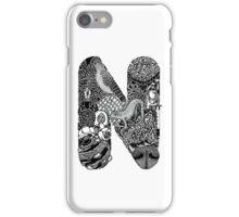 Letter N iPhone Case/Skin