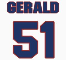 National baseball player Gerald Laird jersey 51 by imsport
