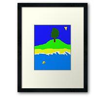 Primitive Island Framed Print