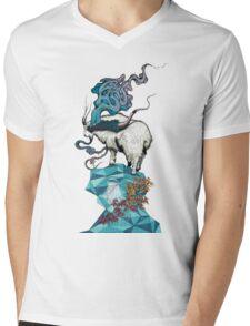 Seeking New Heights Mens V-Neck T-Shirt