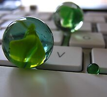 Apple Keyboard Marbles by Artstate