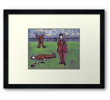 The Dual  Framed Print