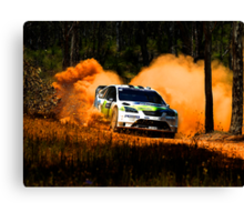 FORD - Flat Out Canvas Print
