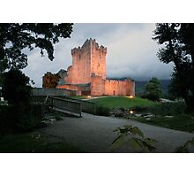 Ross castle evening view Photographic Print