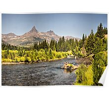 Flyfishing the Shoshone Poster