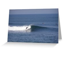 Clasic Surf Greeting Card