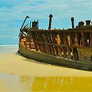 Fraser Shipwreck by peasticks