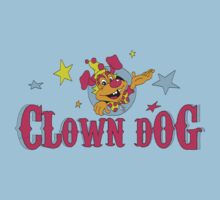 Clown Dog One Piece - Short Sleeve
