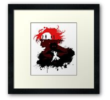 Fight for the survival Framed Print