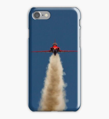 Red Arrow Head On  iPhone Case/Skin
