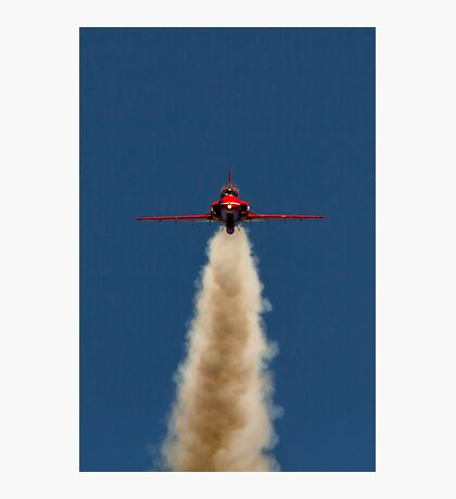 Red Arrow Head On  Photographic Print