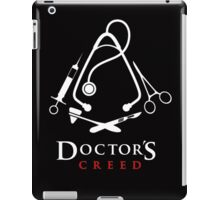 Doctor's Creed Assassin's iPad Case/Skin