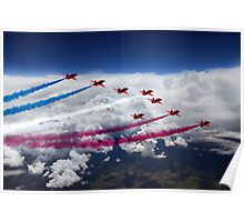 The Red Arrows Flight  Poster
