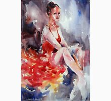 Ballet Dancer in Red Dress - Dance Art Gallery Unisex T-Shirt