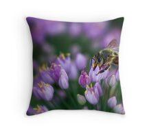 Nectar Collector Throw Pillow
