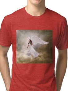 In the arms of the Angel Tri-blend T-Shirt
